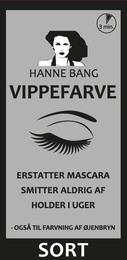 Hanne Bang Vippefarve. Sort