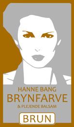 Hanne Bang Permanentfarve til øjenbryn. Brun