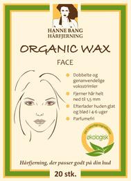 Hanne Bang HBC Organic wax face 20 stk.