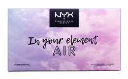 NYX PROF. MAKEUP  IN YOUR ELEMENT SHADOW PALETTE -