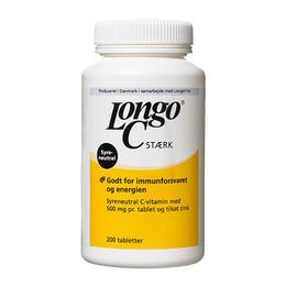 Longo Vital Longo C vitamin 500mg + Zink 200 tabl.