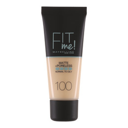 Maybelline Fit Me Matte & Poreless foundation 100