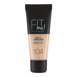 Maybelline Fit Me M&P foundation 104 Soft Ivory
