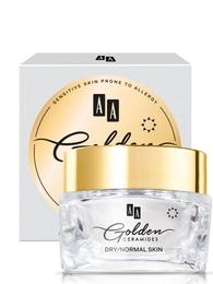 Golden Ceramides Anti-wrinkle day cream T/N hud