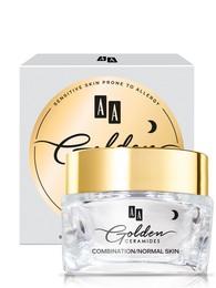 Golden Ceramides Smoothing night cream, K/N hud