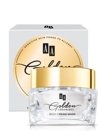 Golden Ceramides Rebuilding cream mask with gold