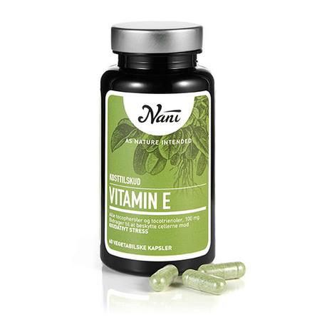 E-vitamin Food State - Nani 60 kap