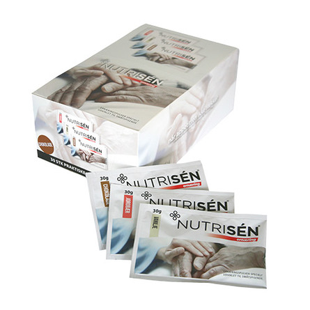 Nutrisén Ernæring 10x3 varianter a 30g