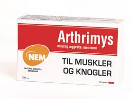 Arthrimys naturlig æggeskal membran 30 kaps