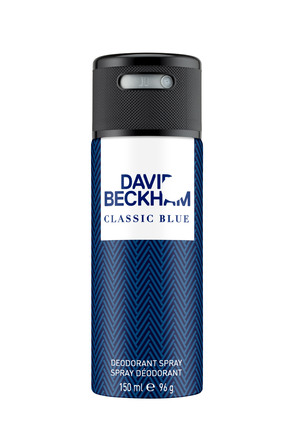 Beckham Classic Blue Deodorant Spray 150 ml