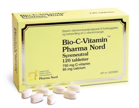 Pharma Nord Bio-C-Vitamin 120 tabl
