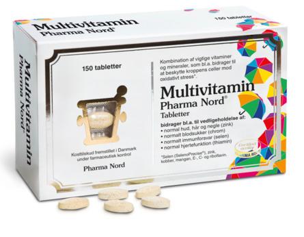 Pharma Nord Multivitamin 150 tabl