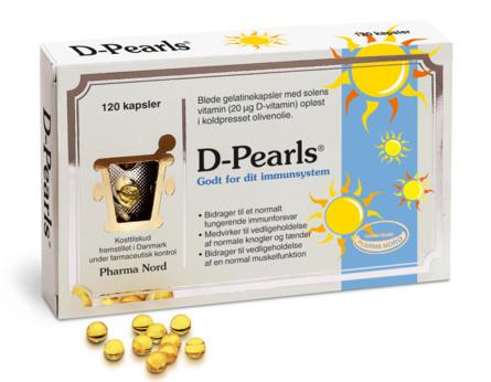 Pharma Nord D-Pearls 20 mcg 120 kaps