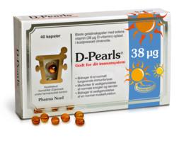 Pharma Nord D-Pearls 38 mcg 40 kaps
