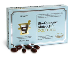Pharma Nord Bio-Quinone Aktivt Q10 Gold 100 mg 90 kaps.