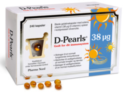 D-Pearls 38 mcg 240 kaps