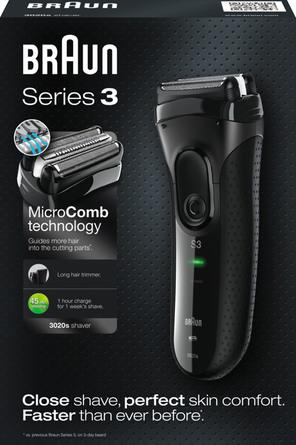 Braun Series 3 3020 elektrisk Shaver