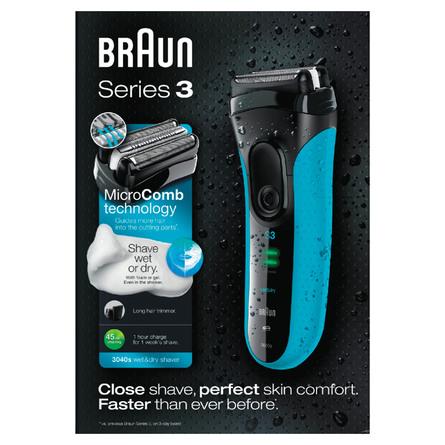 Braun Series 3 Wet & Dry Elektrisk Shaver 3040S