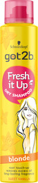 Schwarzkopf Got2b Dry Shampoo Fresh it Up Blonde 200 ml