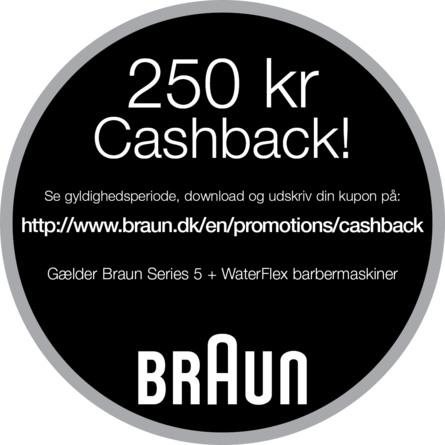 Braun Series 5 5050cc elektrisk babermaskine
