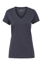 H2O T-shirt V-hals, Woman navy L
