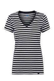 H2O T-shirt V-hals, Woman strib S