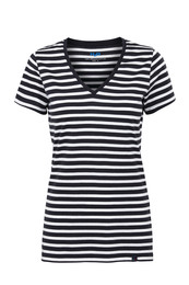 H2O T-shirt V-hals, Woman strib L