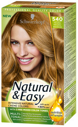Schwarzkopf Natural & Easy 540 Praliné guldbrun
