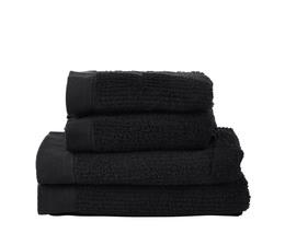 Zone Håndklædepakke sort 4 stk
