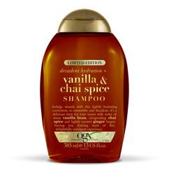 OGX Vanilla Chai Spice Shampoo 385 ml