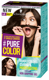 Schwarzkopf Pure Color 4.0 Bare Dark Brown