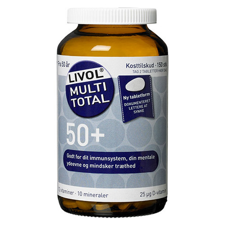 Livol Multi Total 50+  150 tabl.