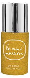 Le mini macaron Le Mini Macaron Single Gel Polish Gold Glitter