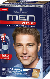 Schwarzkopf Men Perfect 40 Mørkblond 80 ml
