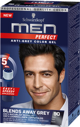 Schwarzkopf Men Perfect 90 Sort 80 ml