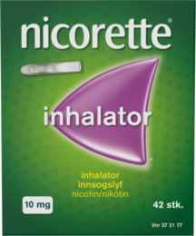 Nicorette® Inhalator+Refil 10 mg 42 stk