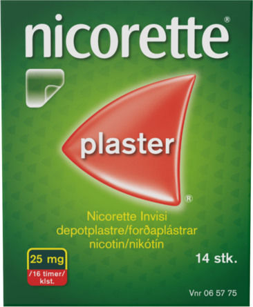 Nicorette® Plaster 25 mg 14 stk