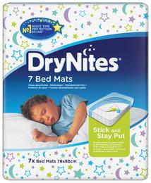 DryNites Bed Mats 7 stk.