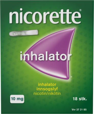 Nicorette® Inhalator+Refill 10 mg 18 stk