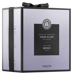 Maria Nila, Sheer Silver + Breeze Soap gaveæske