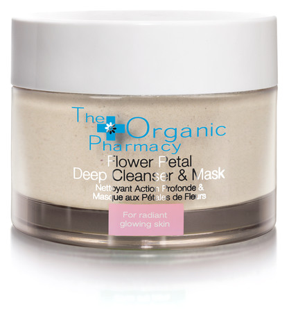 The Organic Pharmacy Flower Petal Deep Cleanser & Mask 60 g