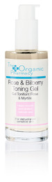 The Organic Pharmacy Rose & Bilberry Toning Gel 50 ml