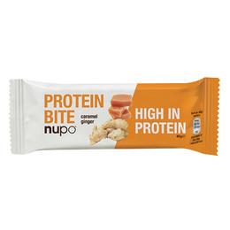 Nupo Protein bite caramel ginger 40 g