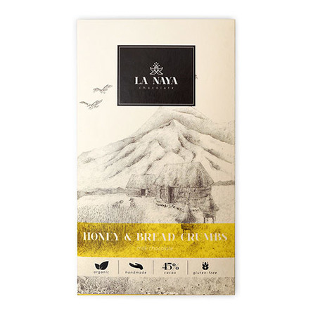 Chokolade - Honning & brød Ø La Naya 80 g