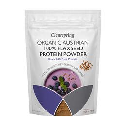 Proteinpulver Hørfrø Ø Østrigsk Raw 350 g