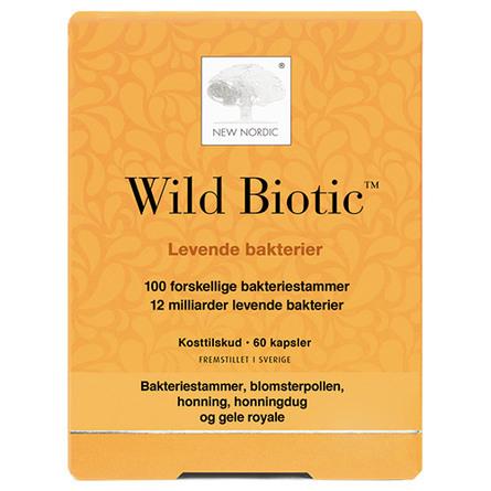 New Nordic Wild Biotic ™ 60 kapsler