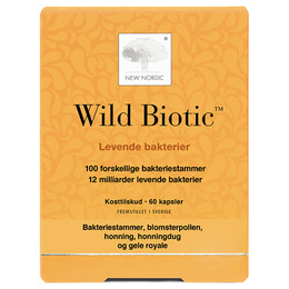 New Nordic Wild Biotic ™ 60 kapsler