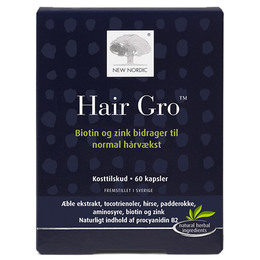 New Nordic Hair Gro ™ 60 kaps.
