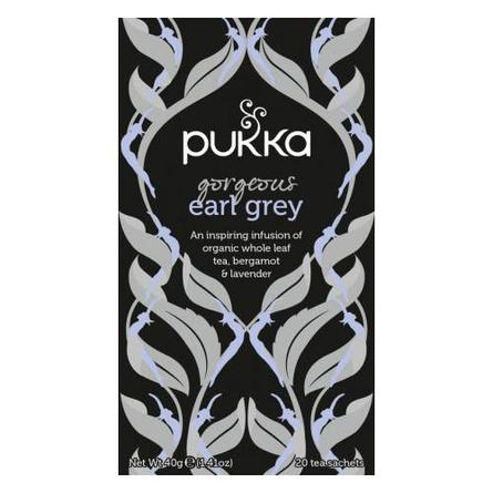 Pukka Gorgeous Earl Grey - øko 20 breve
