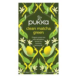 Pukka Clean Matcha Green te Øko 20 br.